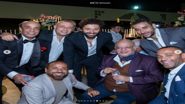 سليمان عيد بعد الحضور الكبير في فرح أبنته: شكرًا لكل أصحابي اللي نوروني
