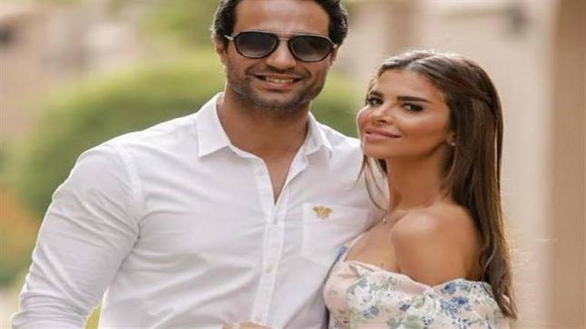 زوجة الفنان كريم فهمي تحتفل بعيد زواجهما: يخليك ليا يا أرجل واحد في الدنيا